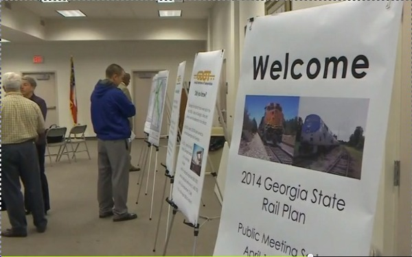 Welcome, in Georgia State Rail Plan, by Joe Hellriegel, for WCTV, 17 April 2014