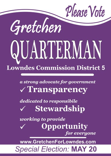 Gretchen Quarterman Lowndes Commission District 5